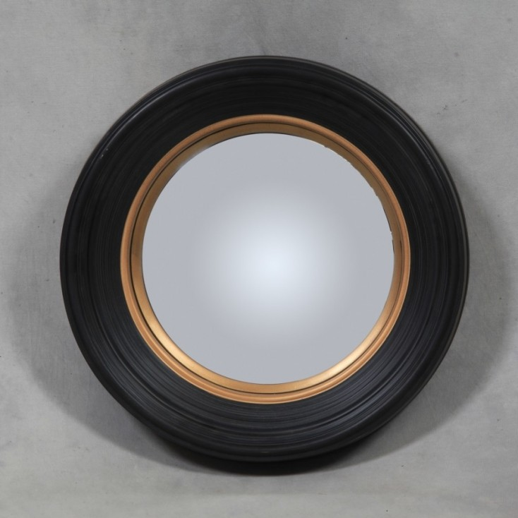 Porthole Mirror Deep Framed
