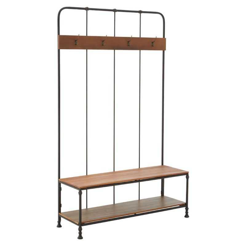 Factory Coat Rack Bench Retro Furniture  £575.00 Store UK, US, EU, AE,BE,CA,DK,FR,DE,IE,IT,MT,NL,NO,ES,SE