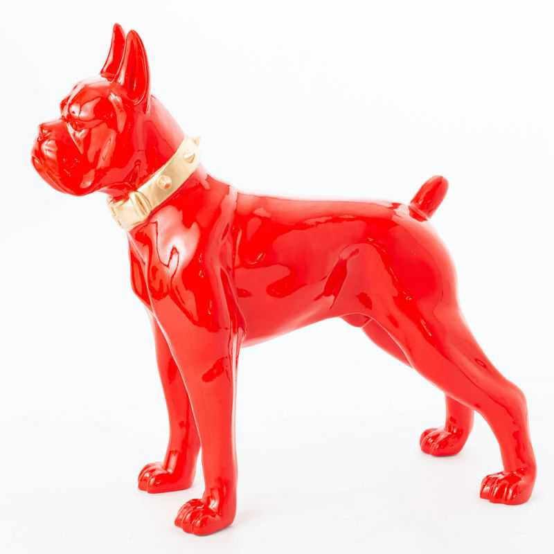 Red Boxer Dog Ornament Retro Gifts Smithers of Stamford £420.00 Store UK, US, EU, AE,BE,CA,DK,FR,DE,IE,IT,MT,NL,NO,ES,SE