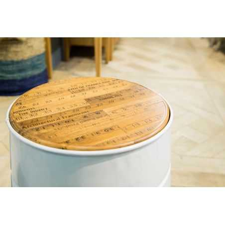 Paperbin Stool Recycled Wood Furniture  £55.00 Store UK, US, EU, AE,BE,CA,DK,FR,DE,IE,IT,MT,NL,NO,ES,SE