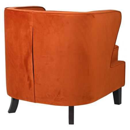 Magma Velvet Winged Chair Designer Furniture Smithers of Stamford £856.25 Store UK, US, EU, AE,BE,CA,DK,FR,DE,IE,IT,MT,NL,NO,...