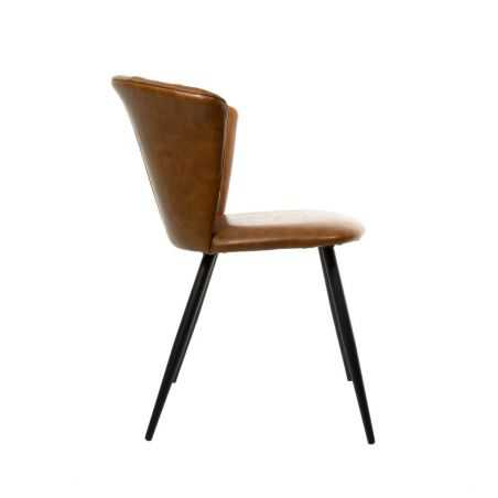 Leather Dining Chairs Set Urban Furniture Smithers of Stamford £430.00 Store UK, US, EU, AE,BE,CA,DK,FR,DE,IE,IT,MT,NL,NO,ES,SE