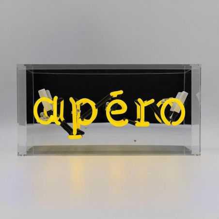 Apero Acrylic Box Neon Neon Signs  £109.00 Store UK, US, EU, AE,BE,CA,DK,FR,DE,IE,IT,MT,NL,NO,ES,SE