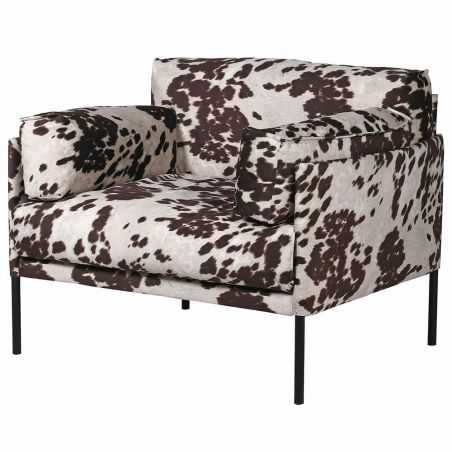 Faux Cowhide Occasional Chair Sofas and Armchairs  £1,030.00 Store UK, US, EU, AE,BE,CA,DK,FR,DE,IE,IT,MT,NL,NO,ES,SE
