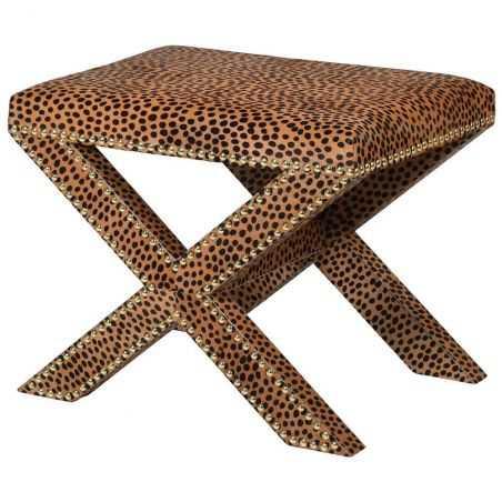 Leopard Print Stool Chairs  £435.00 Store UK, US, EU, AE,BE,CA,DK,FR,DE,IE,IT,MT,NL,NO,ES,SE
