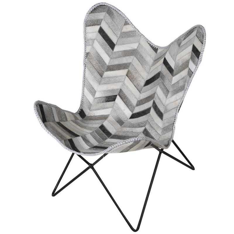 Cowhide Butterfly Chair Chairs  £485.00 Store UK, US, EU, AE,BE,CA,DK,FR,DE,IE,IT,MT,NL,NO,ES,SE