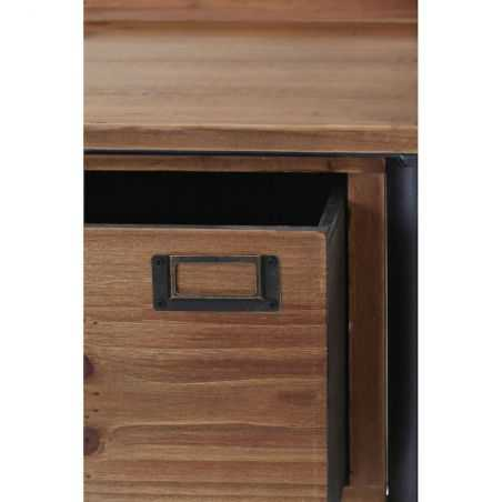 Factory 1 Drawer Side Table Side Tables & Coffee Tables  £315.00 Store UK, US, EU, AE,BE,CA,DK,FR,DE,IE,IT,MT,NL,NO,ES,SE