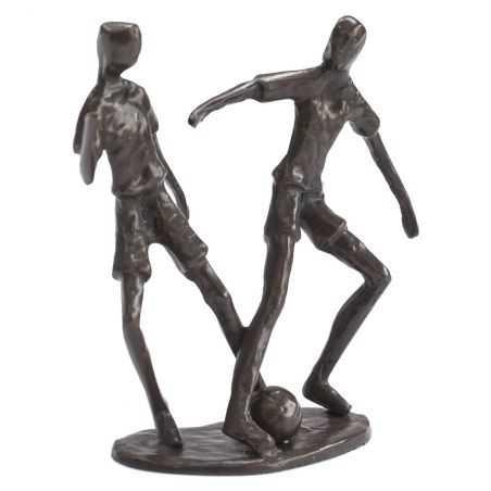 Solid Bronze Footballers Sculpture Retro Gifts  £64.00 Store UK, US, EU, AE,BE,CA,DK,FR,DE,IE,IT,MT,NL,NO,ES,SE
