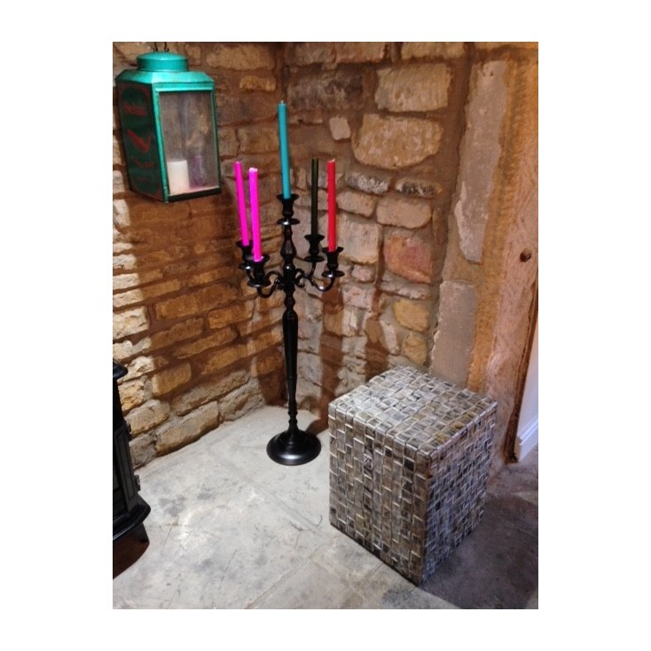 Matte Black Candelabra Smithers Archives Smithers of Stamford £ 138.00 Store UK, US, EU, AE,BE,CA,DK,FR,DE,IE,IT,MT,NL,NO,ES,SE