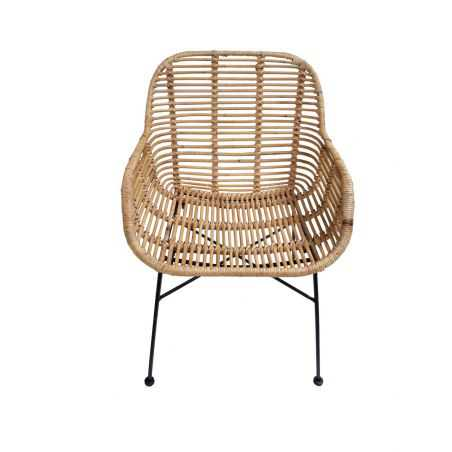 Natural Rattan Dining Chair Set Kitchen & Dining Room Smithers of Stamford £567.00 Store UK, US, EU, AE,BE,CA,DK,FR,DE,IE,IT,...