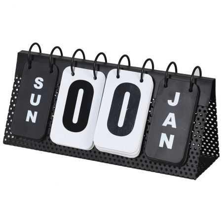 Metal Flip Desk Calendar Retro Ornaments  £25.00 Store UK, US, EU, AE,BE,CA,DK,FR,DE,IE,IT,MT,NL,NO,ES,SE