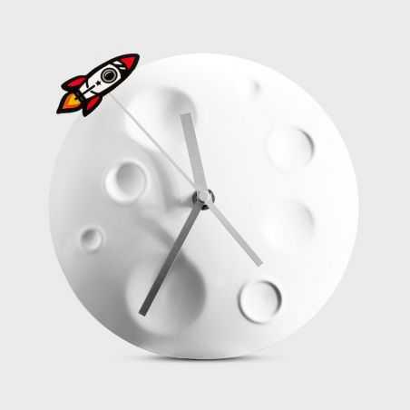 Rocket Moon Clock Man Cave Furniture & Decor  £27.00 Store UK, US, EU, AE,BE,CA,DK,FR,DE,IE,IT,MT,NL,NO,ES,SE