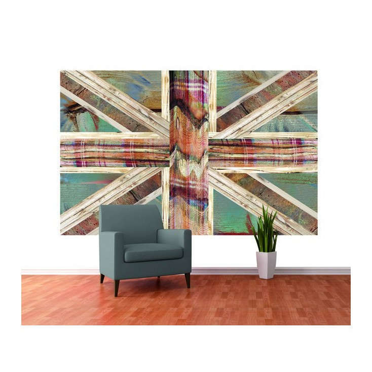 Union Jack Wall Mural Home Smithers of Stamford £ 49.00 Store UK, US, EU, AE,BE,CA,DK,FR,DE,IE,IT,MT,NL,NO,ES,SE