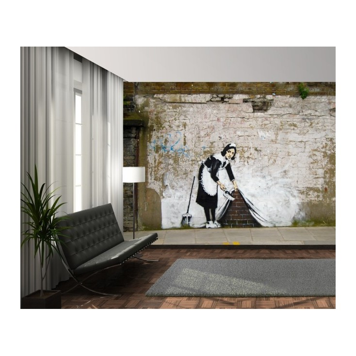 Wall Murals Maid In London Banksy