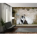 Banksy Wall Mural