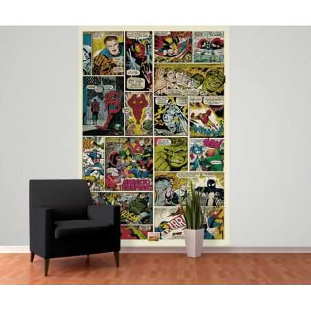 Marvel Wall Mural Home Smithers of Stamford £ 49.00 Store UK, US, EU, AE,BE,CA,DK,FR,DE,IE,IT,MT,NL,NO,ES,SE
