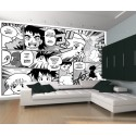 Japanese Anime Wall Mural