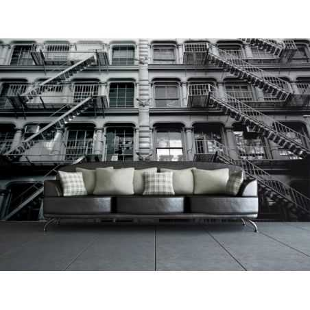 New York apartment block Mural Home Smithers of Stamford £ 69.99 Store UK, US, EU, AE,BE,CA,DK,FR,DE,IE,IT,MT,NL,NO,ES,SE