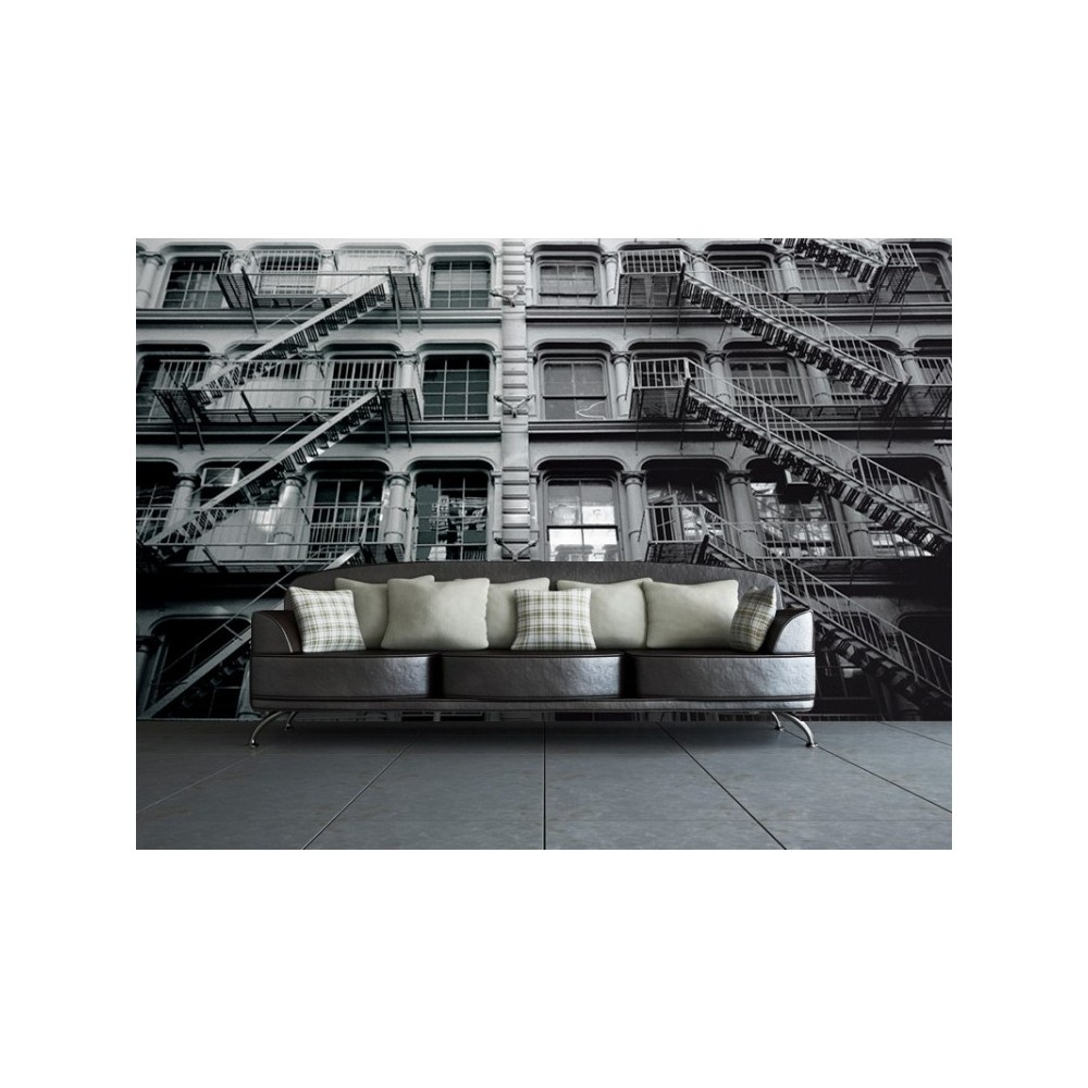 Apartment Block: New York Apartments Wallpaper For Quirky Style Homes UK