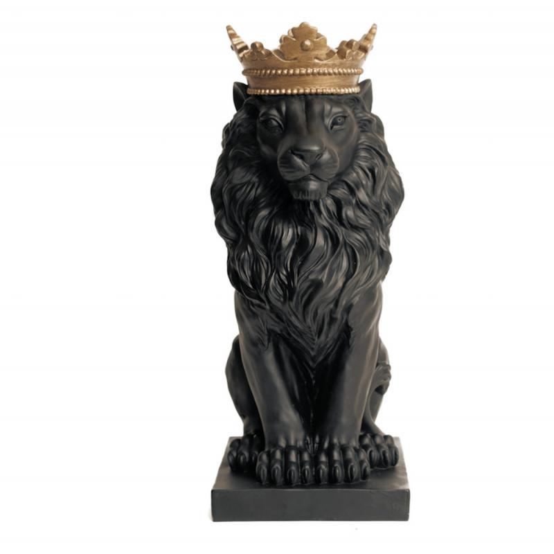 Black Lion Ornament Retro Ornaments Smithers of Stamford £65.00 Store UK, US, EU, AE,BE,CA,DK,FR,DE,IE,IT,MT,NL,NO,ES,SE