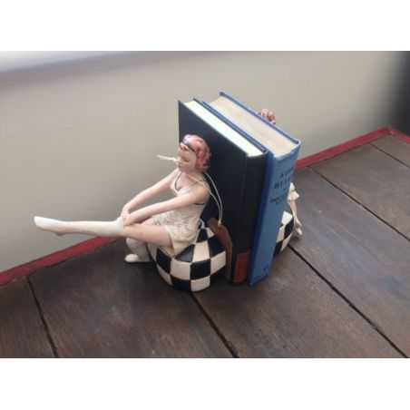 Art Deco Lady Book Ends Home Smithers of Stamford £ 60.00 Store UK, US, EU, AE,BE,CA,DK,FR,DE,IE,IT,MT,NL,NO,ES,SE
