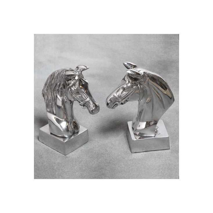 Horse Bookends Home Smithers of Stamford £ 57.00 Store UK, US, EU, AE,BE,CA,DK,FR,DE,IE,IT,MT,NL,NO,ES,SE