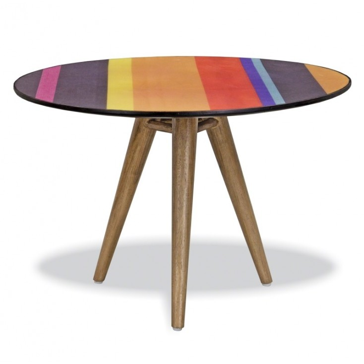 Vibrant Side Table