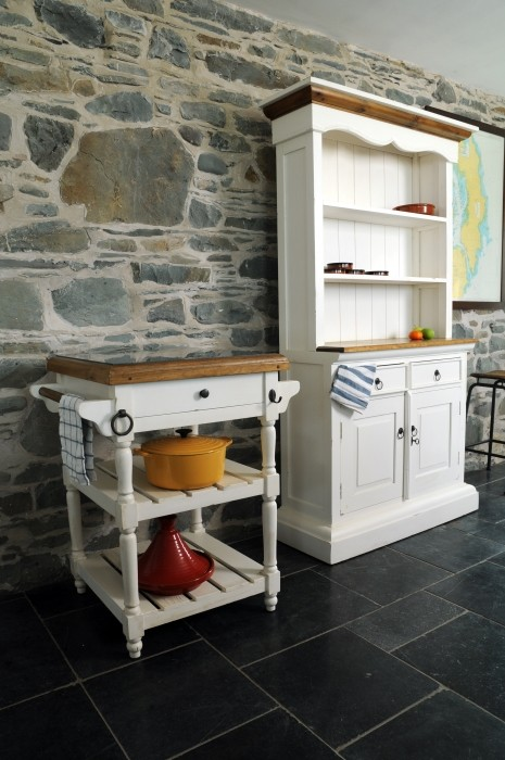 Quirky Butchers Trolley Kitchen Island In Shaker New