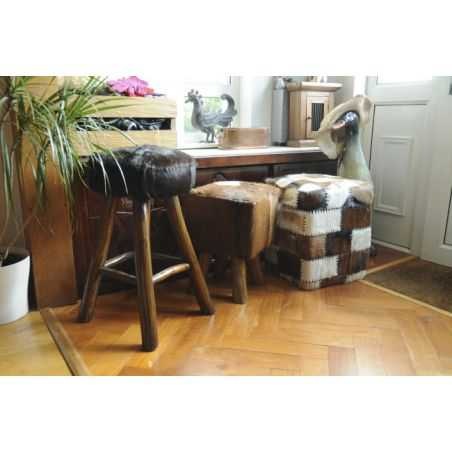 Mandela Square Stool Unique Footstools Smithers of Stamford £ 124.00 Store UK, US, EU, AE,BE,CA,DK,FR,DE,IE,IT,MT,NL,NO,ES,SE