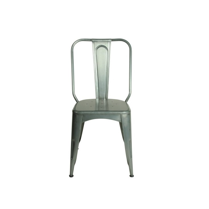 Tolix Industrial dining chairs