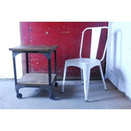 Industrial Metal Dining Chairs Smithers Archives Smithers of Stamford £ 198.00 Store UK, US, EU, AE,BE,CA,DK,FR,DE,IE,IT,MT,N...
