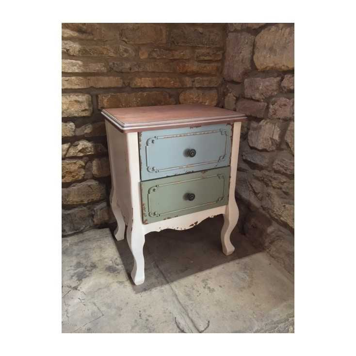 Shabby Bedside Table Home Smithers of Stamford £ 171.00 Store UK, US, EU, AE,BE,CA,DK,FR,DE,IE,IT,MT,NL,NO,ES,SE