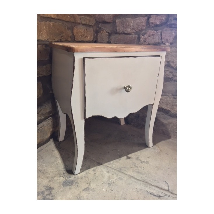 French Chic Style Bedside Table