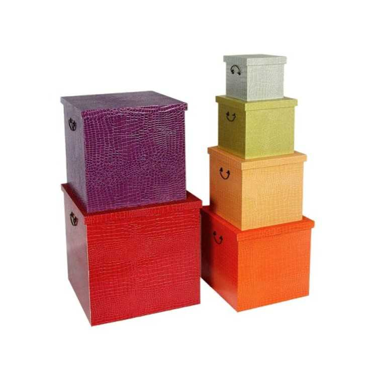 Retro Multi Coloured Boxes Smithers Archives Smithers of Stamford £ 297.00 Store UK, US, EU, AE,BE,CA,DK,FR,DE,IE,IT,MT,NL,NO...