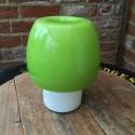 Mushroom Green Glass Table Lamp