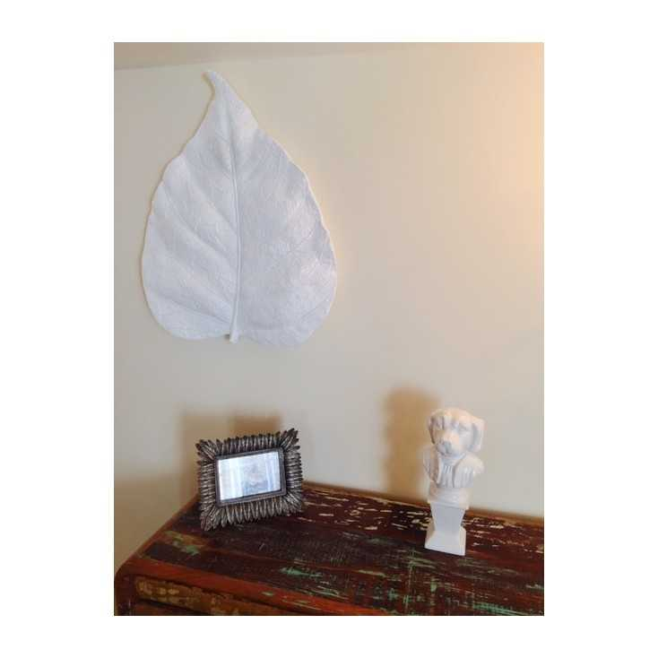 White Leaf Wall Décor Home Smithers of Stamford £ 53.00 Store UK, US, EU, AE,BE,CA,DK,FR,DE,IE,IT,MT,NL,NO,ES,SE