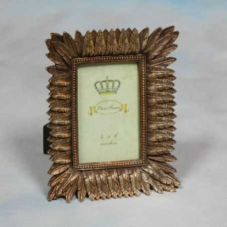 Silver Feather Photo Frame Home Smithers of Stamford £ 28.00 Store UK, US, EU, AE,BE,CA,DK,FR,DE,IE,IT,MT,NL,NO,ES,SE