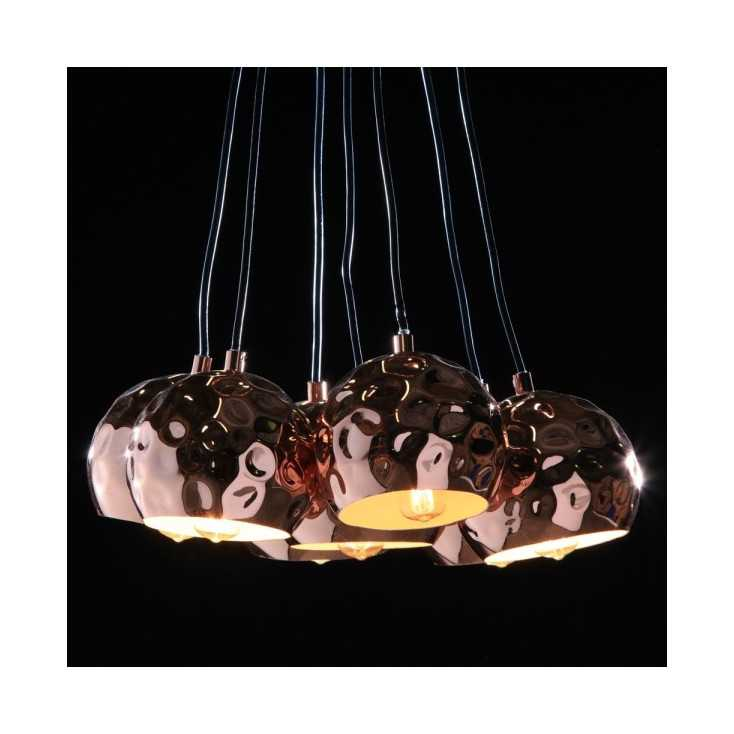 Copper Cluster Lights Home Smithers of Stamford £ 230.00 Store UK, US, EU, AE,BE,CA,DK,FR,DE,IE,IT,MT,NL,NO,ES,SE