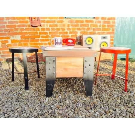 Route 66 Kitchen Stool Smithers Archives Smithers of Stamford £ 88.00 Store UK, US, EU, AE,BE,CA,DK,FR,DE,IE,IT,MT,NL,NO,ES,SE