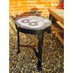 Retro Style Route 66 Kitchen Stool