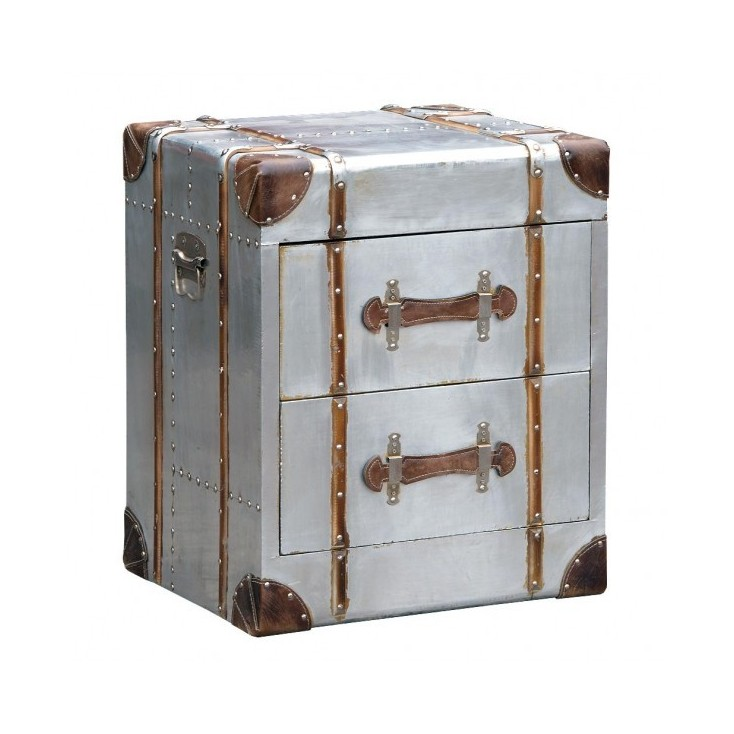 Hawker Industrial Bedside Table Chest of Drawers Smithers of Stamford £ 168.00 Store UK, US, EU, AE,BE,CA,DK,FR,DE,IE,IT,MT,N...