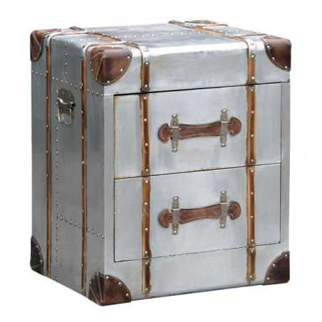 Hawker Industrial Bedside Table Chest of Drawers Smithers of Stamford £ 269.00 Store UK, US, EU, AE,BE,CA,DK,FR,DE,IE,IT,MT,N...