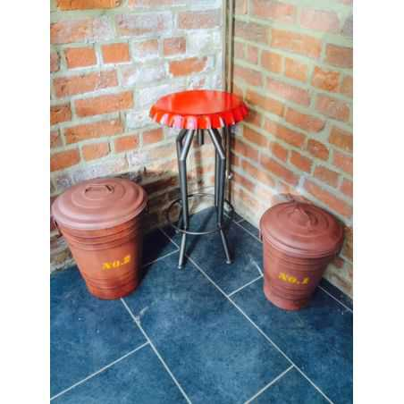 Industrial Loft Bin Home Smithers of Stamford £ 85.00 Store UK, US, EU, AE,BE,CA,DK,FR,DE,IE,IT,MT,NL,NO,ES,SE
