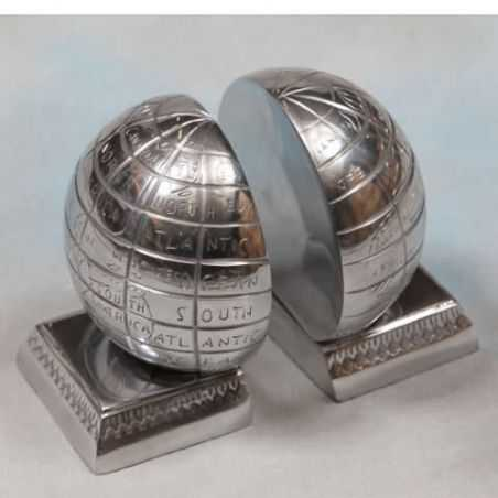 Globe Bookends Smithers Archives Smithers of Stamford £ 42.00 Store UK, US, EU, AE,BE,CA,DK,FR,DE,IE,IT,MT,NL,NO,ES,SE