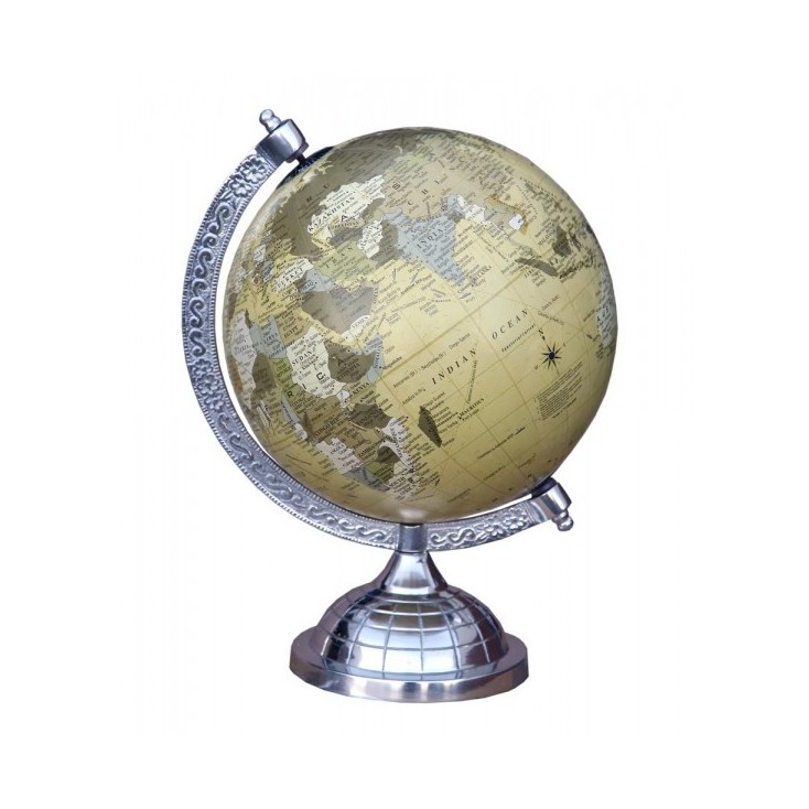 Aluminium Globe Previous Collections Smithers of Stamford £ 54.00 Store UK, US, EU
