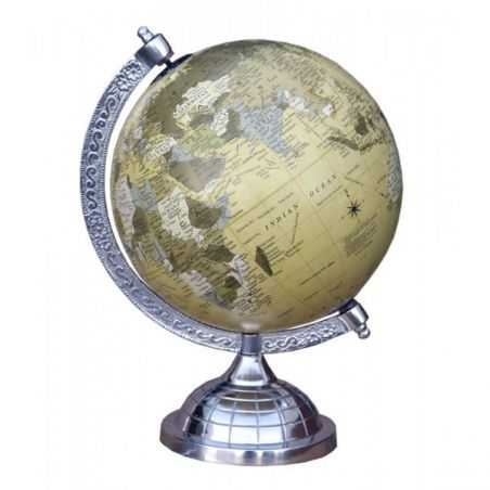 Aluminium Globe Smithers Archives Smithers of Stamford £ 54.00 Store UK, US, EU, AE,BE,CA,DK,FR,DE,IE,IT,MT,NL,NO,ES,SE