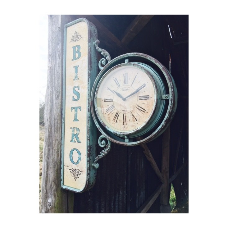 Bistro Wall Clock Home Smithers of Stamford £ 220.00 Store UK, US, EU