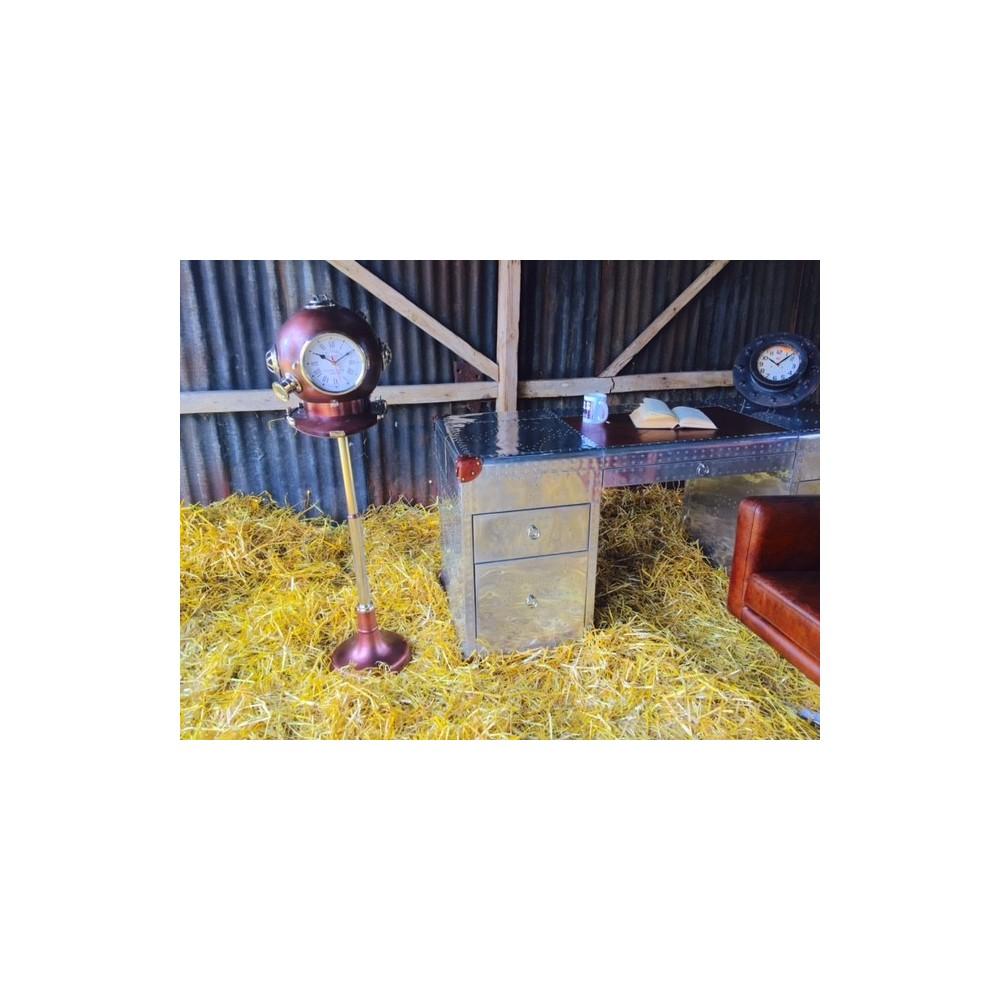 Nautical Helmet Clocks By Smithers Of Stamford
