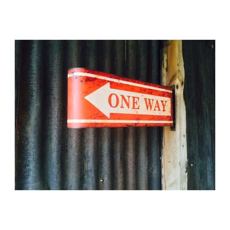 One Way Sign Home Smithers of Stamford £ 60.00 Store UK, US, EU, AE,BE,CA,DK,FR,DE,IE,IT,MT,NL,NO,ES,SE