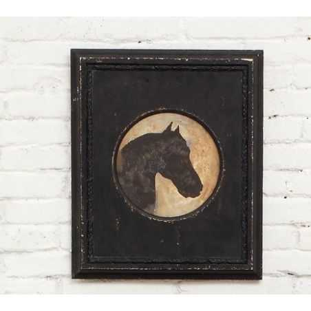 Horse Head Silhouette Wall Art Smithers Archives Smithers of Stamford £ 186.60 Store UK, US, EU, AE,BE,CA,DK,FR,DE,IE,IT,MT,N...